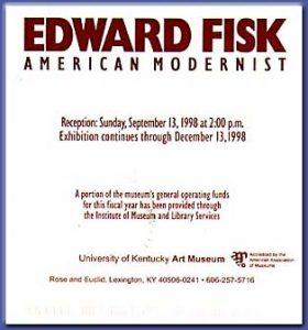 Retrospective show University of Kentucky Art museum - 1998
